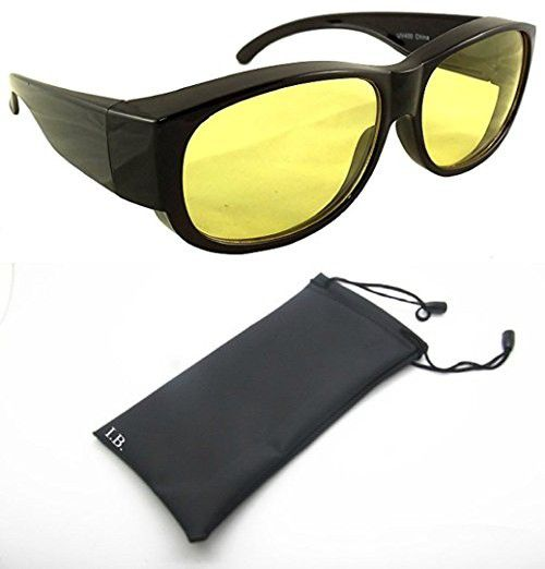 c094f089d02 Yellow Night Driving Fit Over Glasses