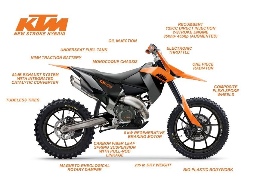 Ktm 2 Stroke Of The Future With Images Ktm Dirtbikes