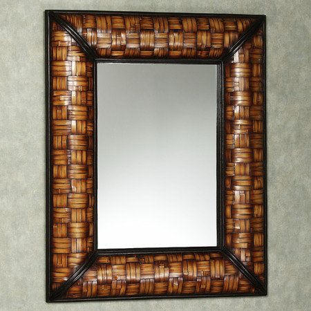 I would love this mirror in my palm tree tropical bathroom for Tropical bathroom mirrors