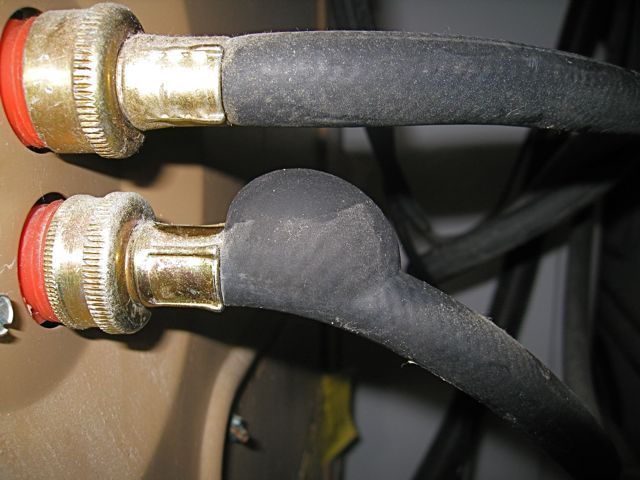 You Should Regularly Check Your Washing Machine And Dishwasher Pipes For Leaks Bulging Or Cracking Get N Washing Machine Hose Water Damage Damage Restoration