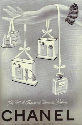 Chanel perfume adv - vintage