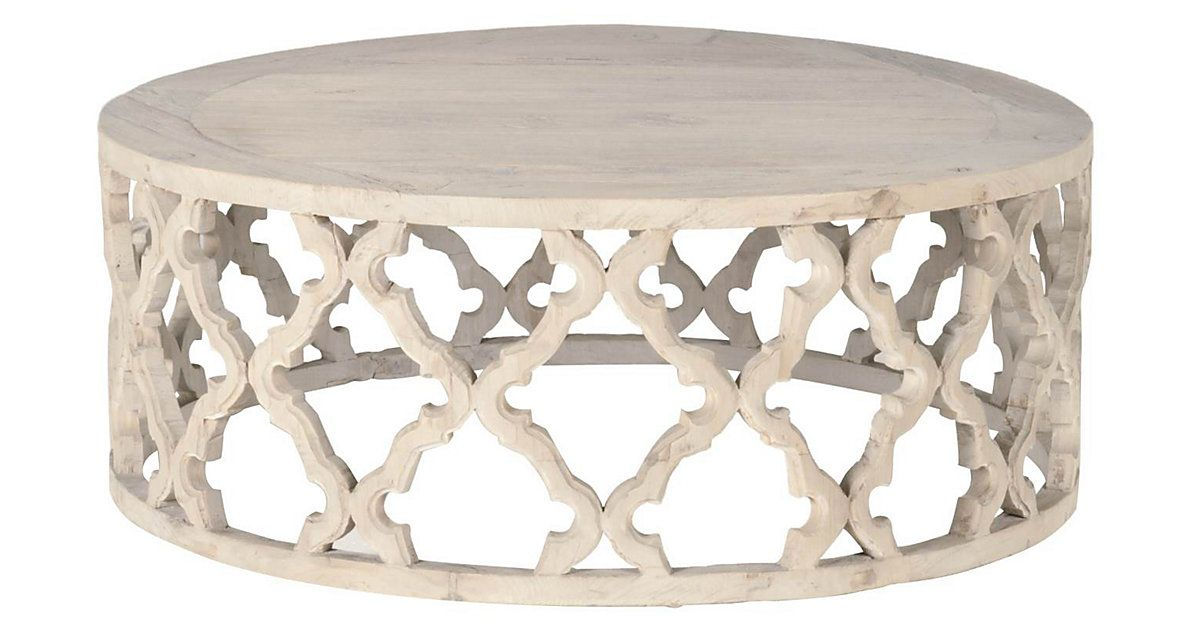 Fretwork Coffee Table.This Masterful Coffee Table Hewn From Recycled Elm Shows Off