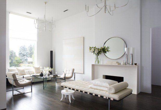 18 moderne Wohnzimmer Design-Ideen in Minimalismus Wohndesign
