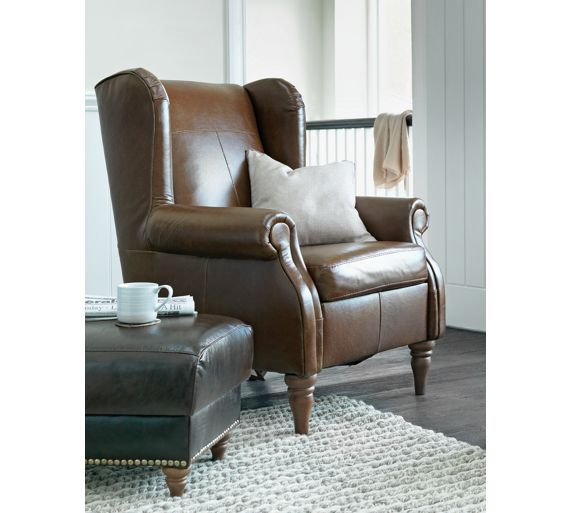 Remarkable Home Argyll Leather High Back Chair Tan High Back Chairs Ibusinesslaw Wood Chair Design Ideas Ibusinesslaworg