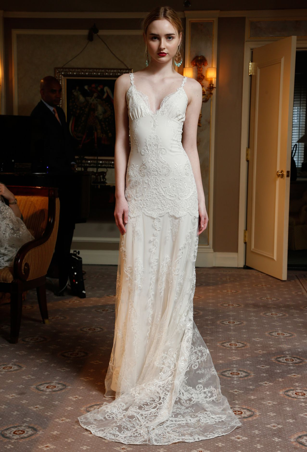 Claire pettibone bridal spring spring fashion news and