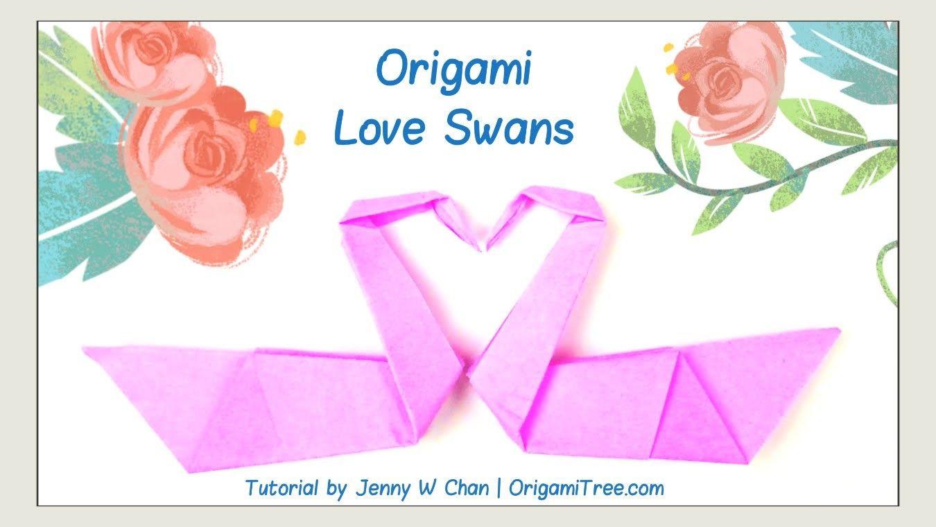 Valentines day crafts origami swan love birds origami bird valentines day crafts origami swan love birds origami bird easy paper crafts jeuxipadfo Gallery