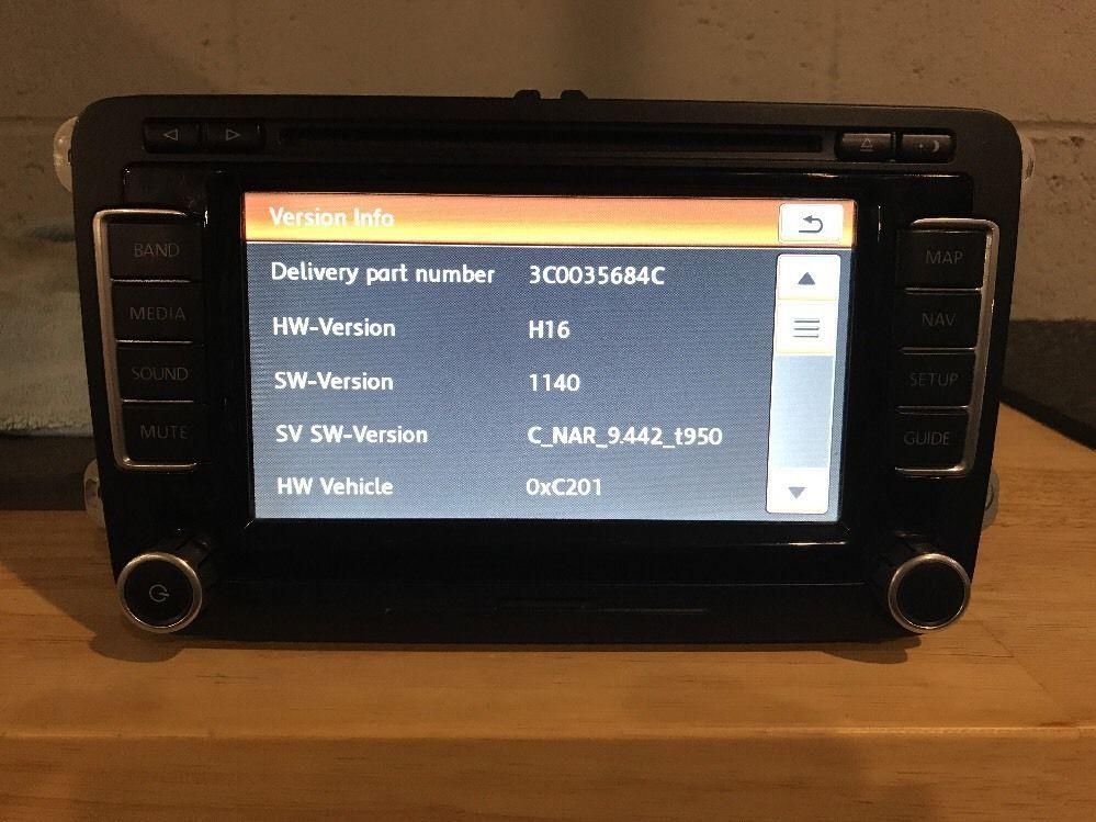 Details about US Spec RNS-510 VW Navigation RNS510 MFD3