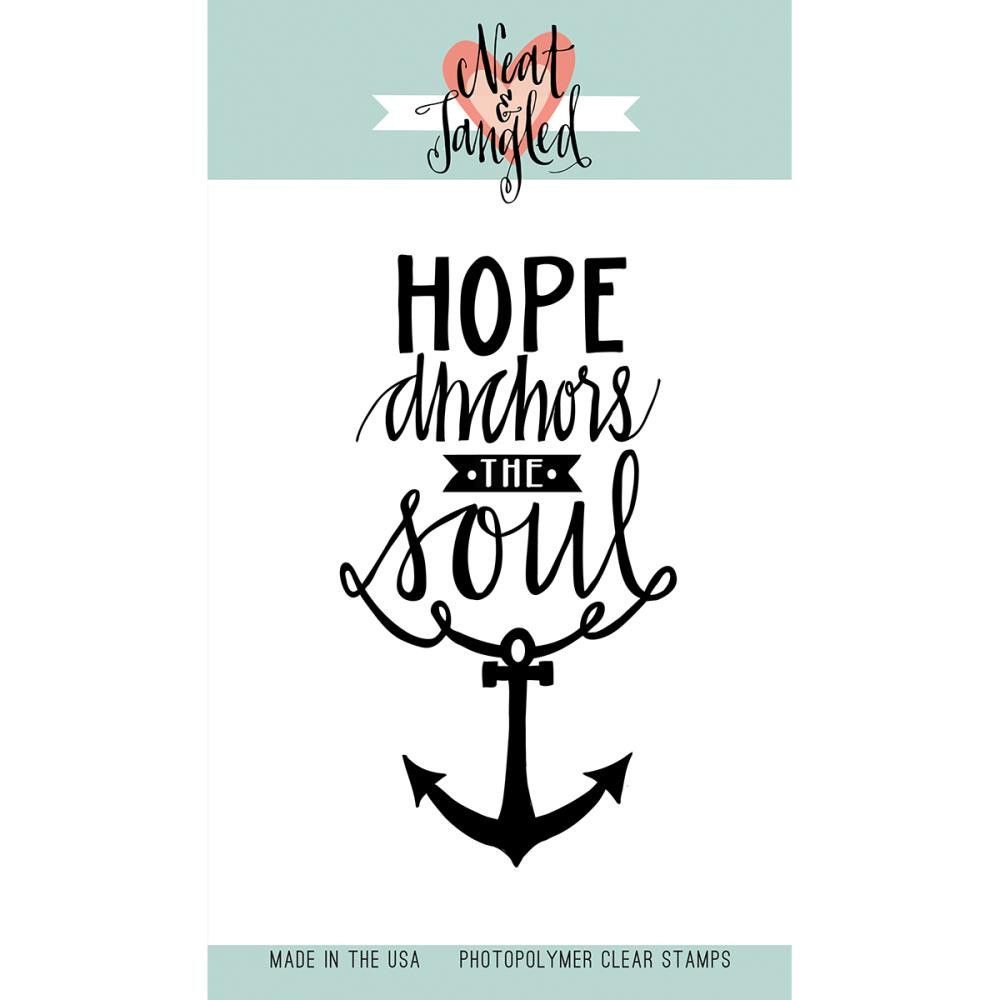 """Hope Anchors Neat & Tangled Clear Stamps 3""""X4"""""""