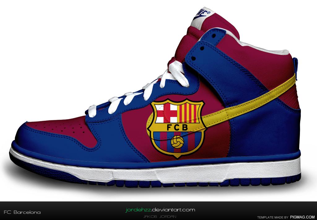 Nike dunk fc barcelona computer designed by jordehzz