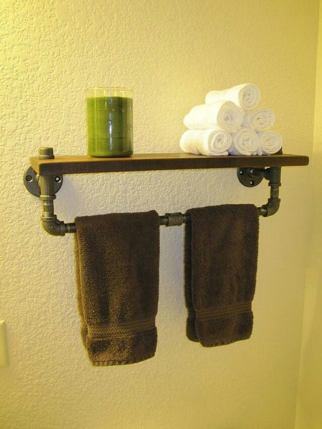 shelves shelves bathroom pipe shelves man cave. Black Bedroom Furniture Sets. Home Design Ideas