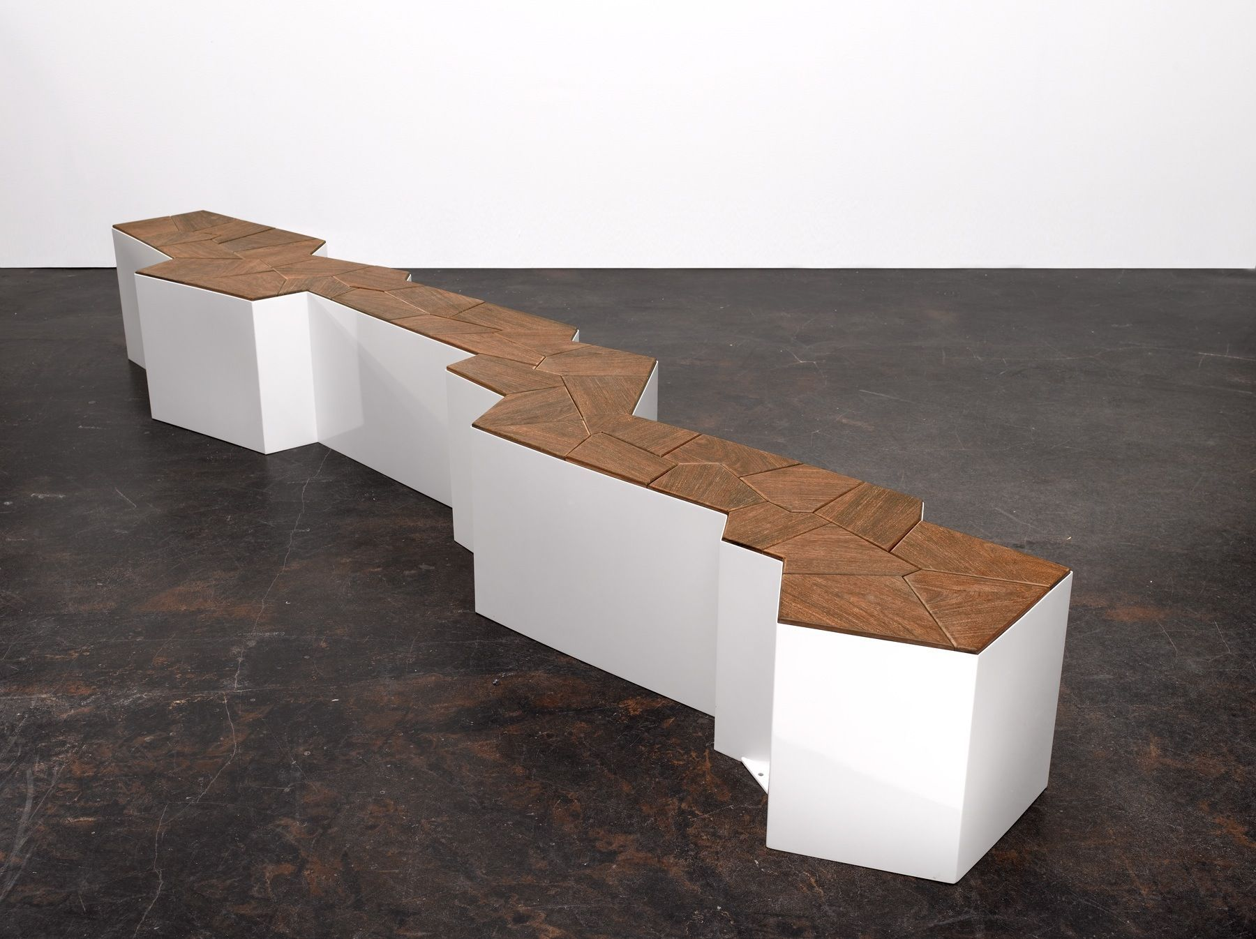Fault Line Bench Design by Cameron Van Dyke « Furniii