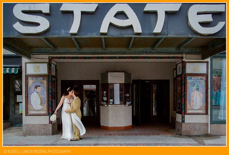 Lucy And Chris At The Beautiful Classic State Theatre In Downtown Portland,  Maine.