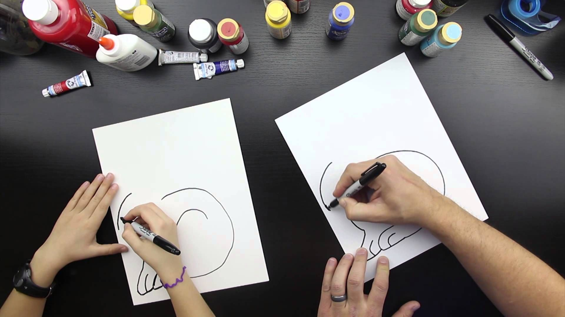 Hop Over And Download Our Free How To Draw A Rabbit Printable Too Http: