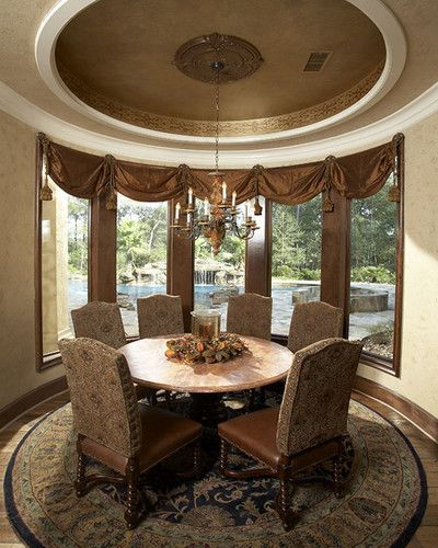 16 Absolutely Gorgeous Mediterranean Dining Room Designs: Dining Room - Mediterranean - Dining Room