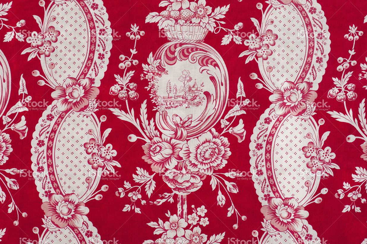 Antique floral fabric SB13 Close Up stock photo 19453959 - iStock