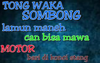Kumpulan Gambar Dp Bbm Bahasa Sunda Lucu Bikin Ngakak
