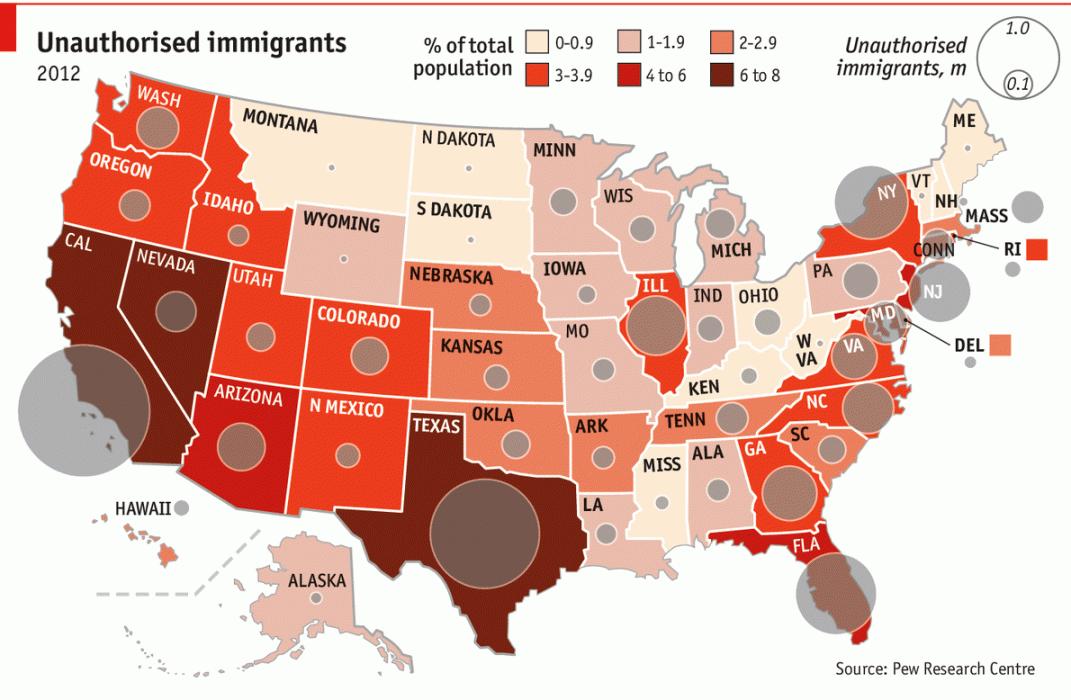 America\'s immigration debate | Immigration debate, America ...