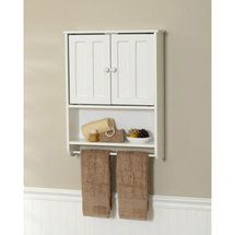 walmart zenith products wood wall cabinet white bathroom