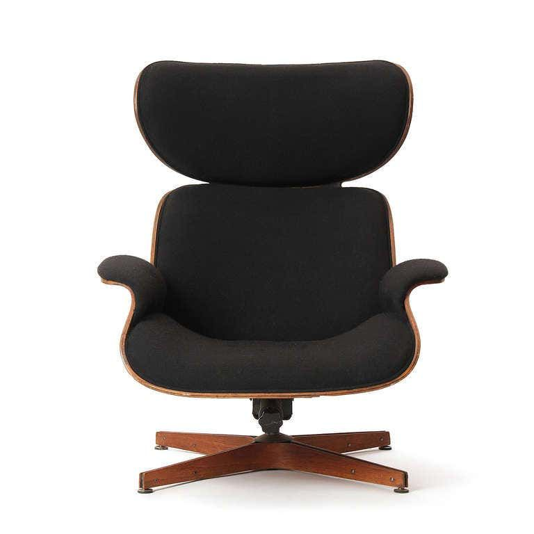 Mr chair lounge chair by mulhauser for plycraft