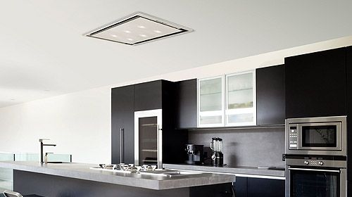 Cooker Hood Flush To Ceiling Cooker Hoods House Kitchen Extractor