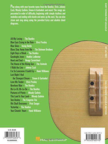 Easy Songs For Ukulele Supplementary Songbook To Hal Leonard Ukulele