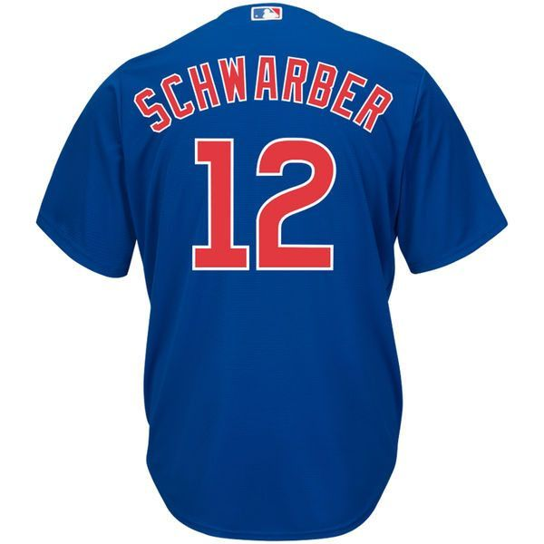the latest ad843 dd032 CHICAGO CUBS MENS COOL BASE KYLE SCHWARBER REPLICA ALTERNATE ...