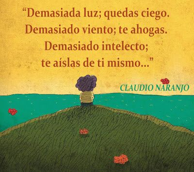 Frase De Claudio Naranjo Frases Educación Frases Frases