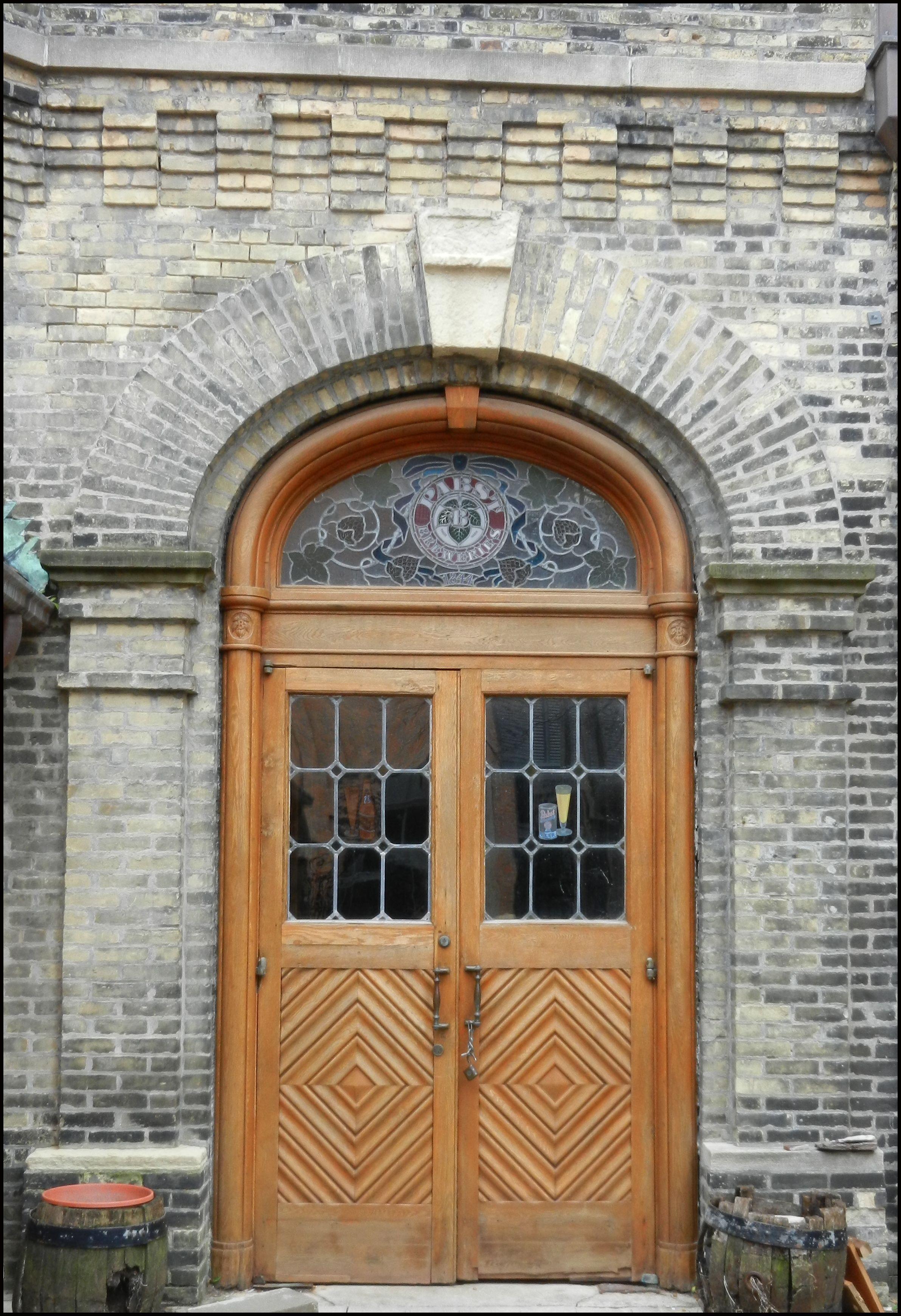 Door At The Now Defunct Pabst Brewery Milwaukee Wisconsin Milwaukee Home Doors When One Door Closes