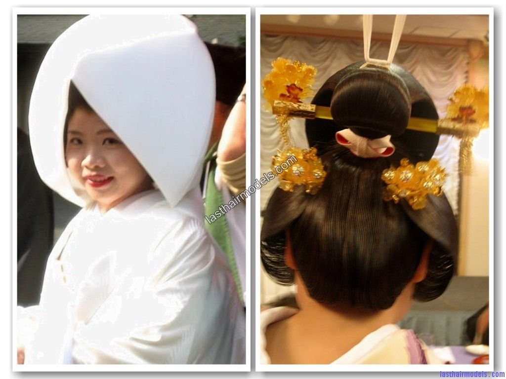 traditional japanese wedding hairstyles | japanese wedding
