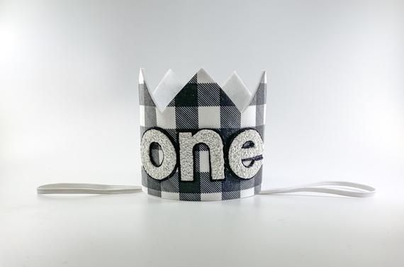Photo of Wild One Crown, Two Wild Crown, Lumberjack Crown, Buffalo Check Birthday, Wild One 1st Birthday, Ca