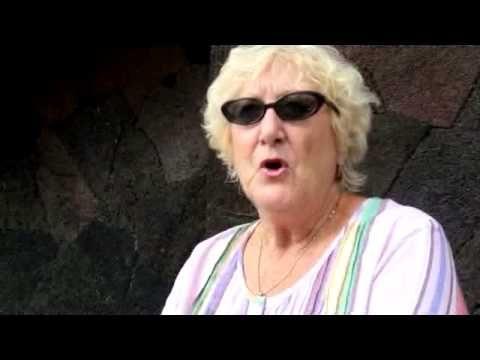 Frankie Stapleton talks about the lava flow headed toward Pahoa. Oh my gosh, she was my neighbor! And is still my parents neighbor, lol.