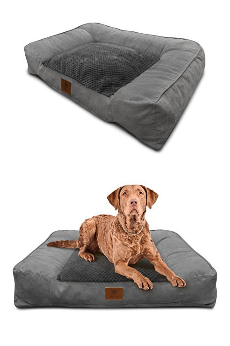 American Kennel Club Memory Foam Sofa Pet Bed Dog Beds Amazon
