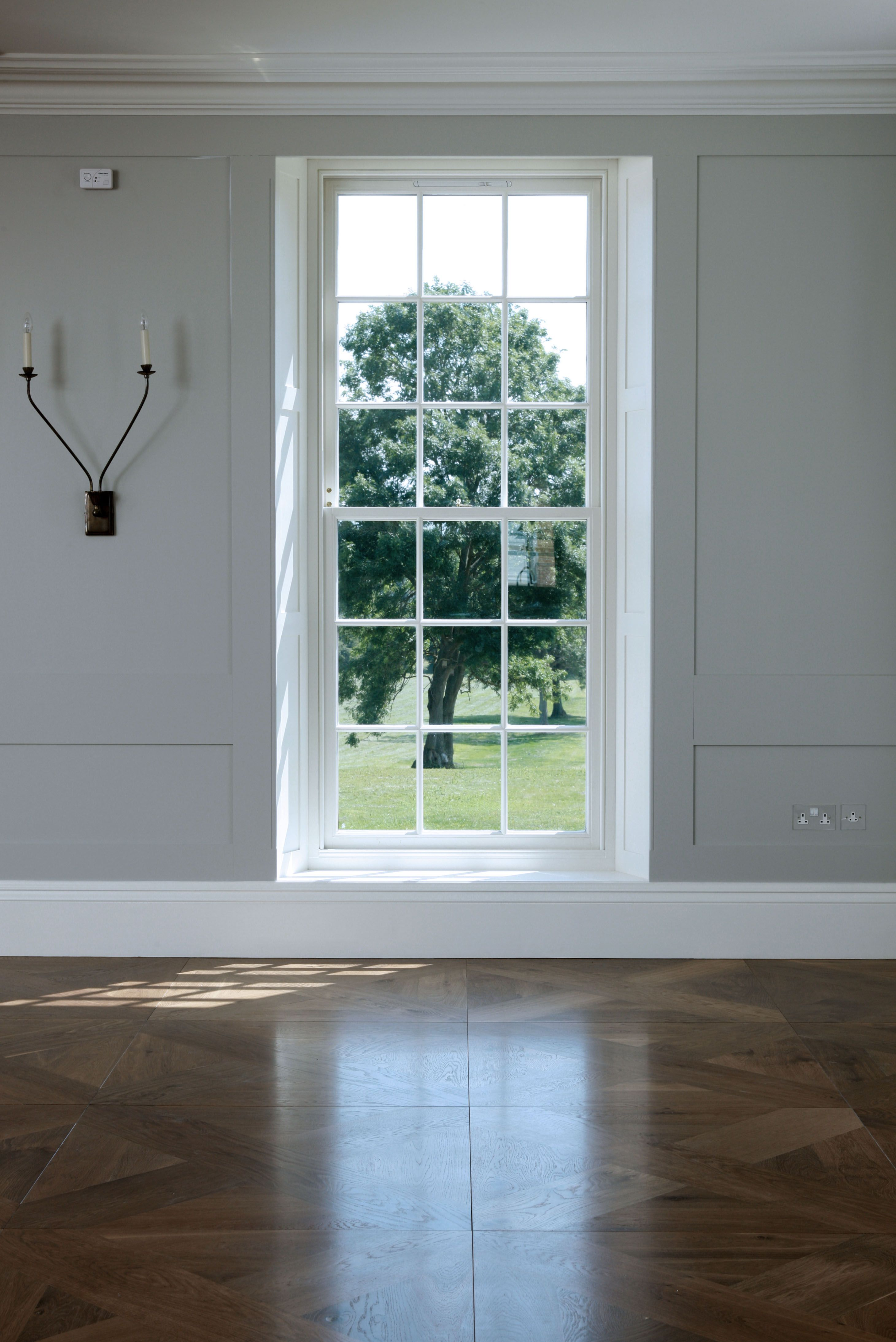 Teora Panels in Chambray oiled oak in Oxfordshire