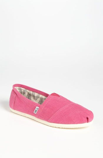 TOMS 'Classic - Earthwise' Slip-On (Women) available at #Nordstrom