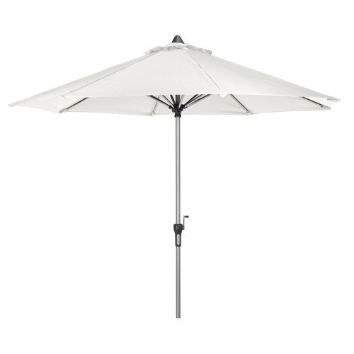 3m Traditional Parasol Cozy Bay Colour Creamy White Outdoor