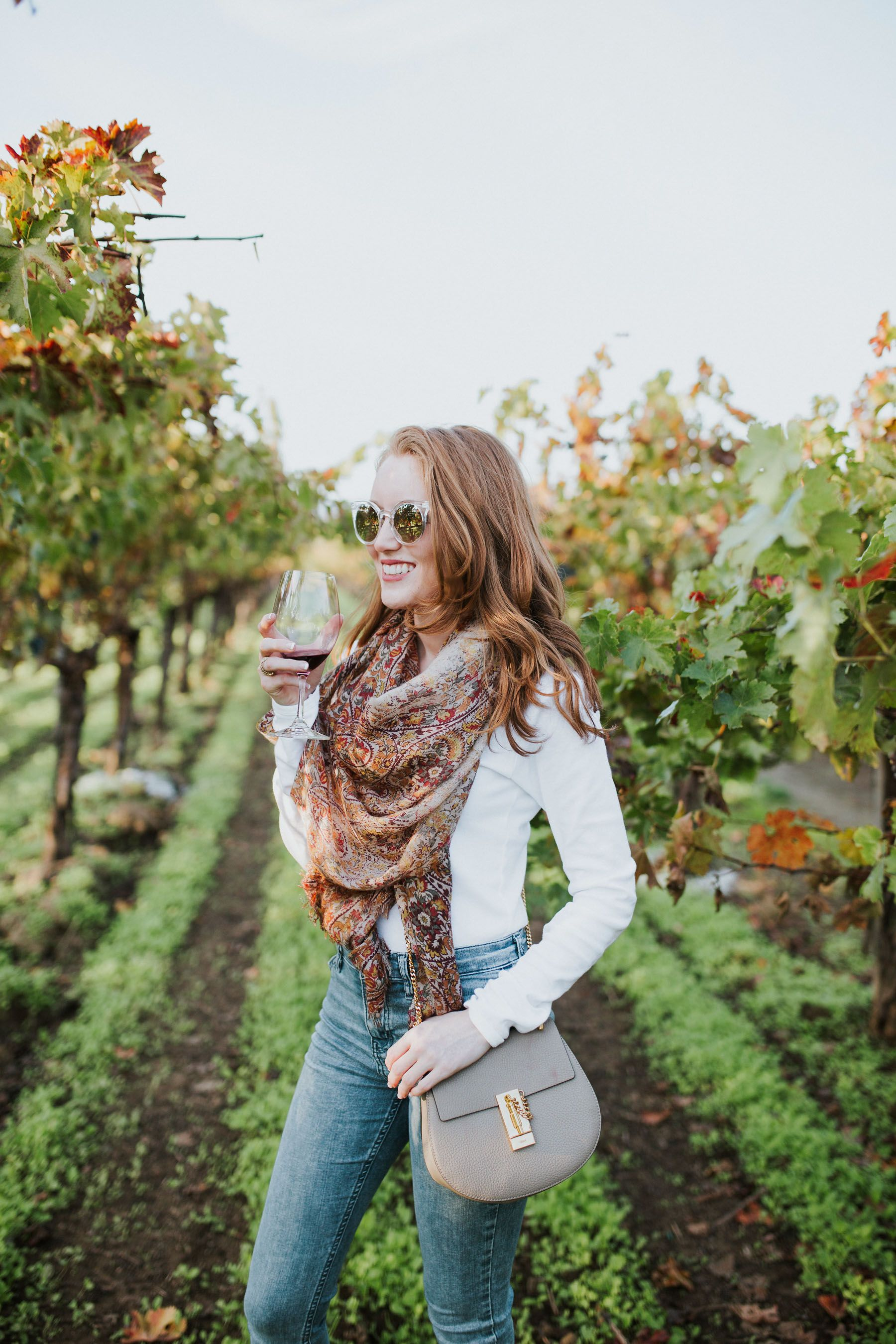 Wine Tasting Outfit: Napa Valley in November | Style | Wine