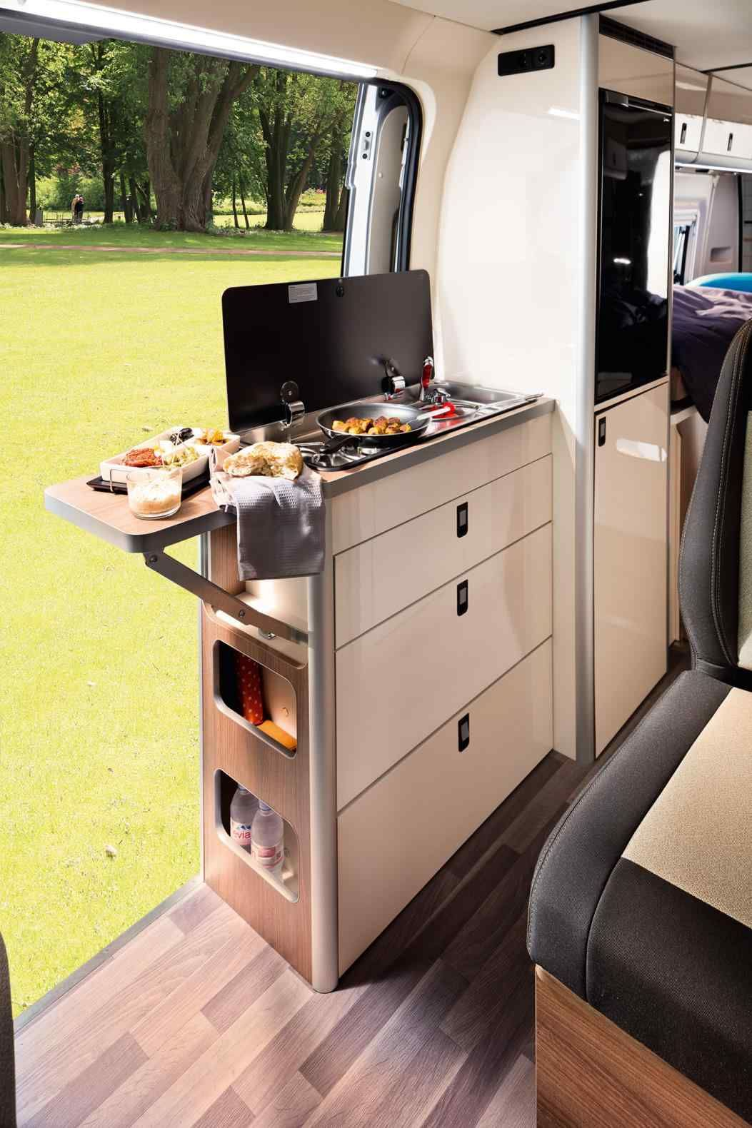 Ford Transit Campervan Conversion Interior Furniture Camper Van