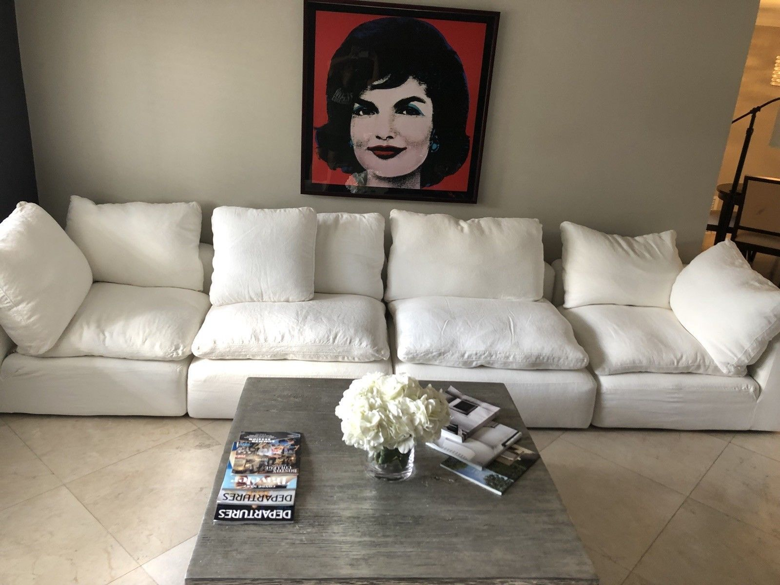 Restoration Hardware Cloud modular Couch/Sofa Washed