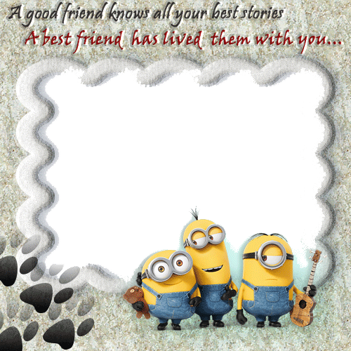 create cute friendship photo frame with your photo and name picsgenerate custom photo frame