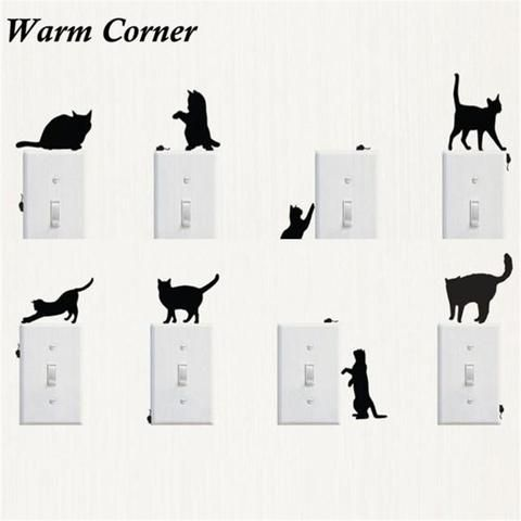 PC Switch Cat Stickers CatsSticker For Wall Pinterest - Vinyl decal cat pinterest