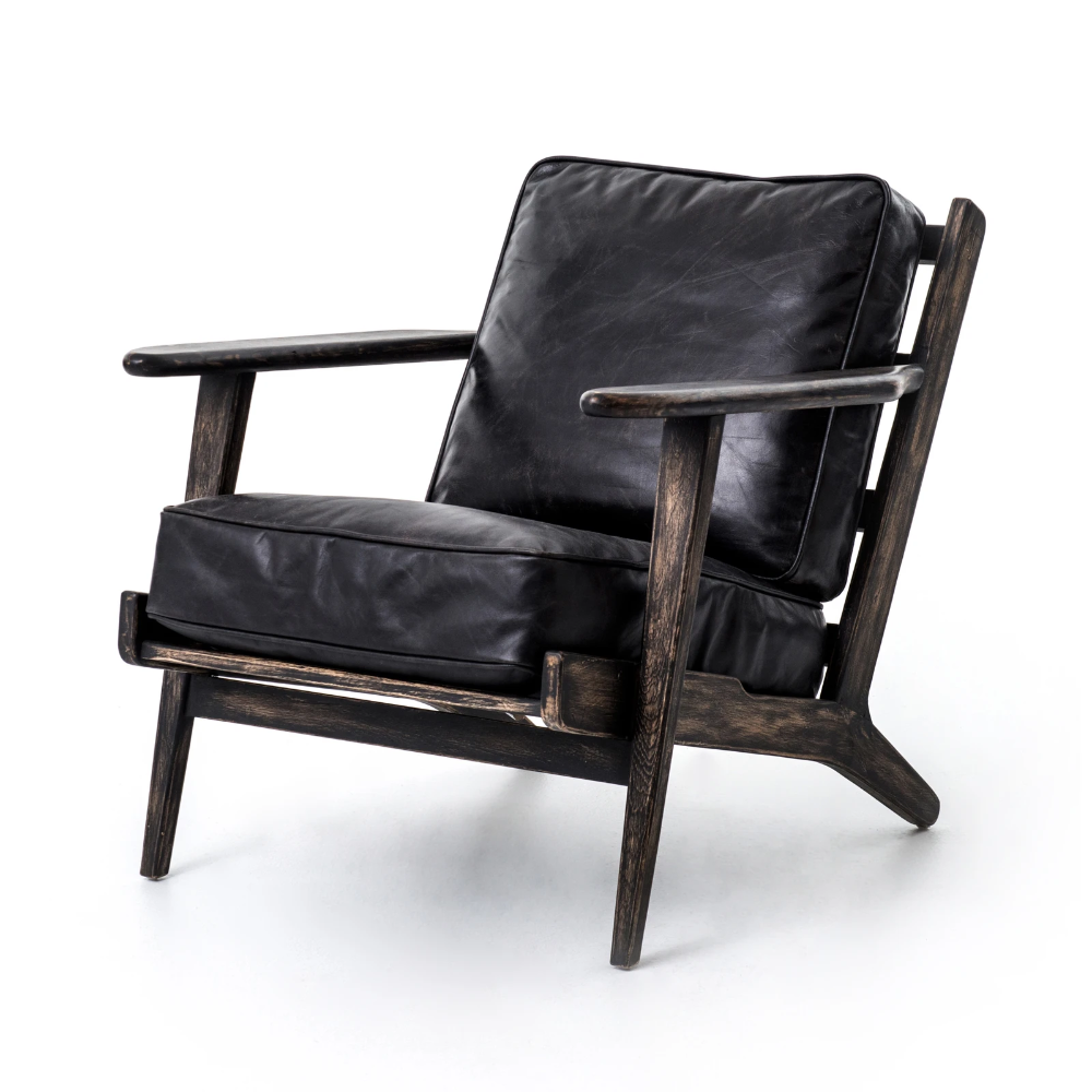 Leo Lounge Chair In 2020 Leather Lounge Chair Leather Lounge Lounge Chair
