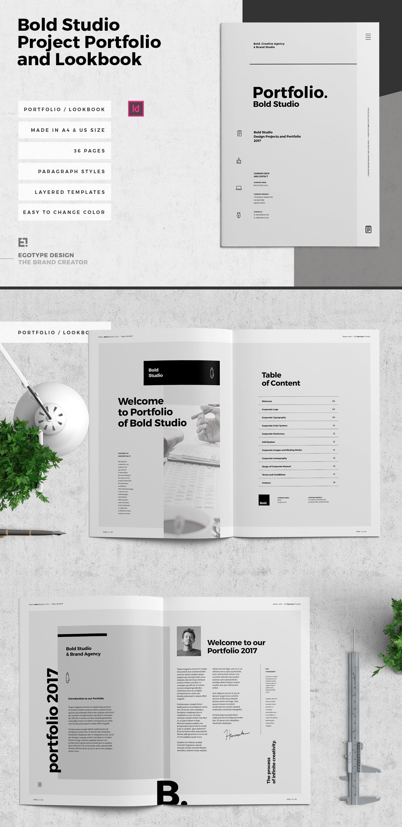 Check Out This Behance Project Bold Portfolio And Project