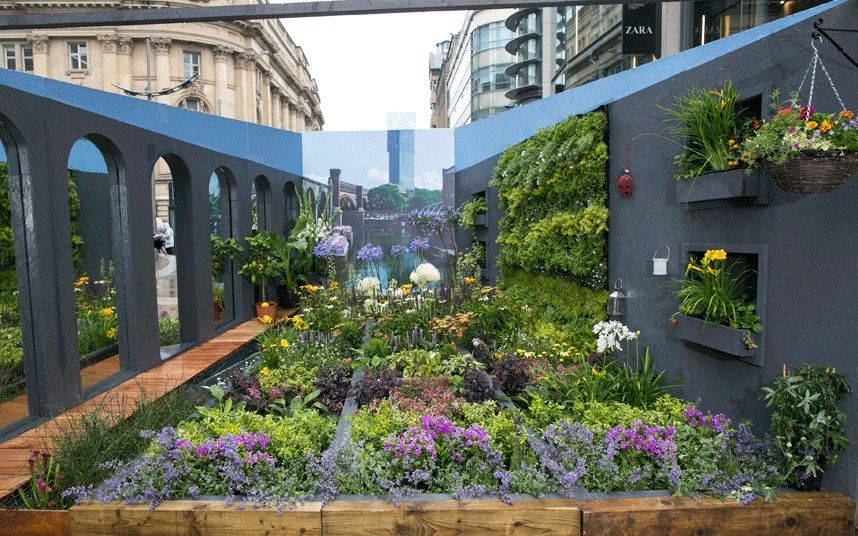 Dig The City Gorgeous Urban Gardens On Show In Manchester With