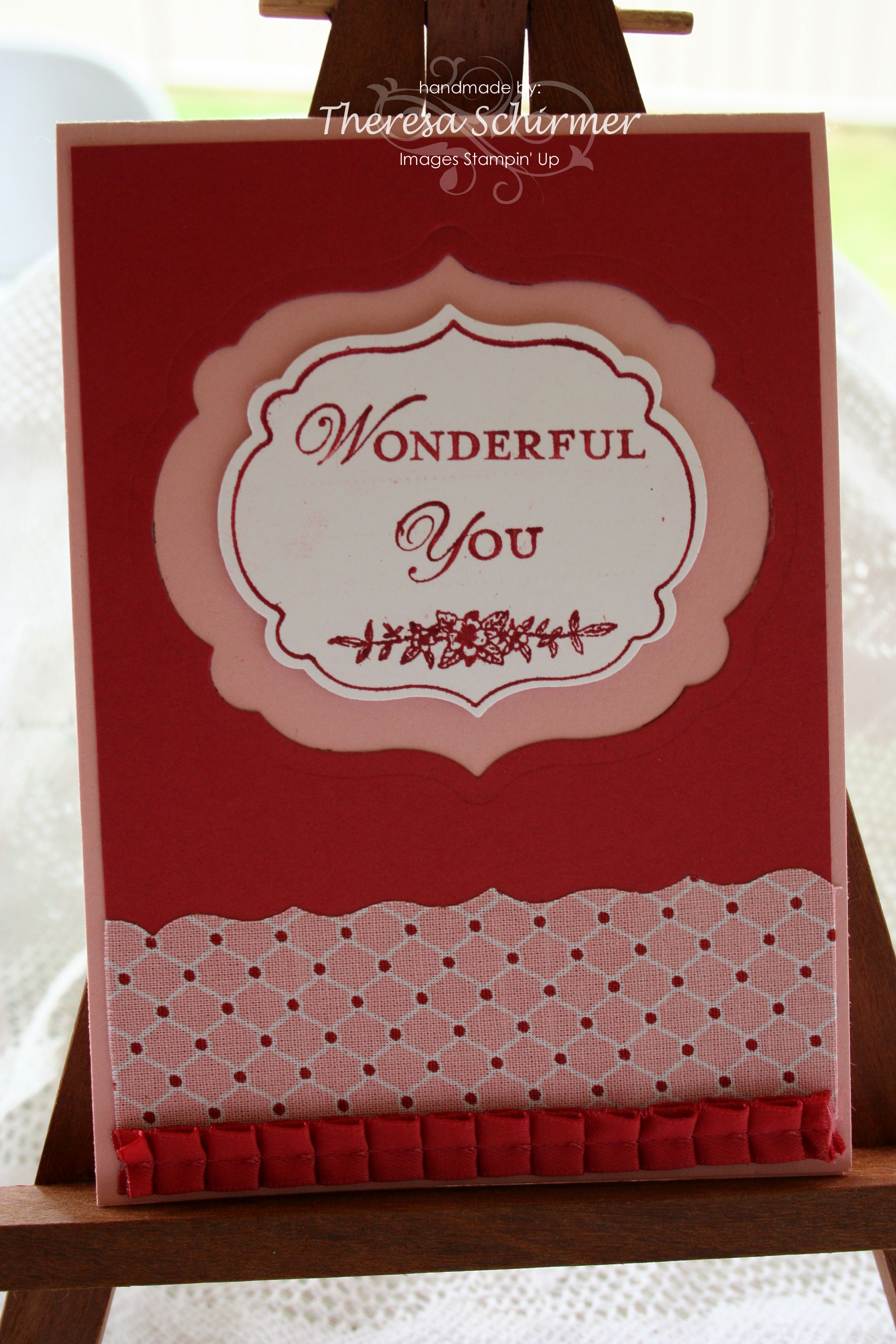secret sister reveal cards | Market Ideas « Stamping and Stuff with ...