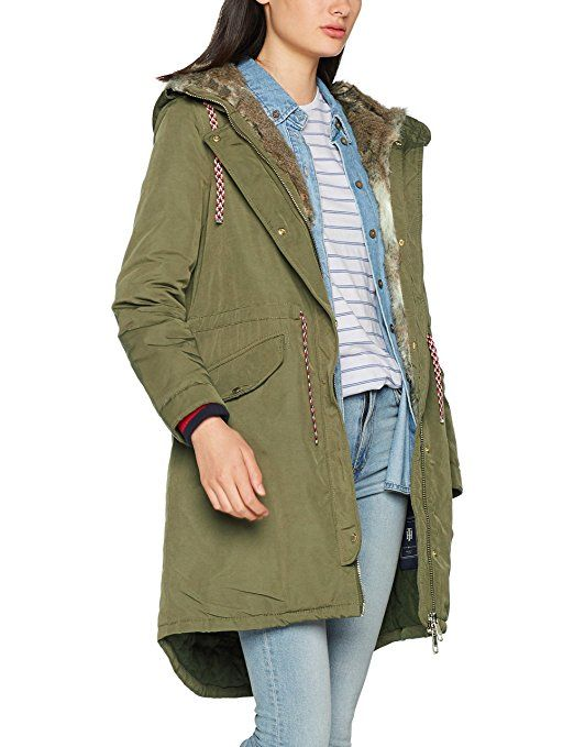 Tommy Hilfiger Damen Mantel Cynthia Cotton Parka: