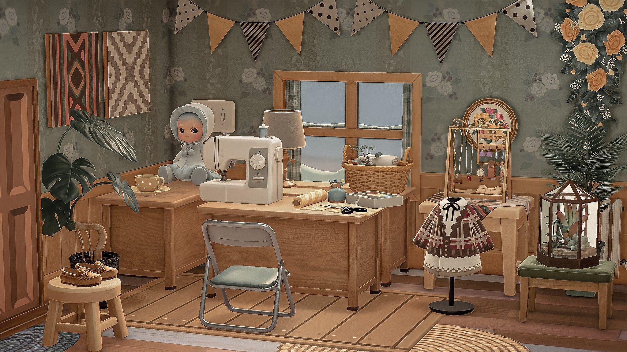 Nadine On Twitter Animal Crossing Animal Crossing Wild World Animal Crossing Game Acnh antique bedroom ideas
