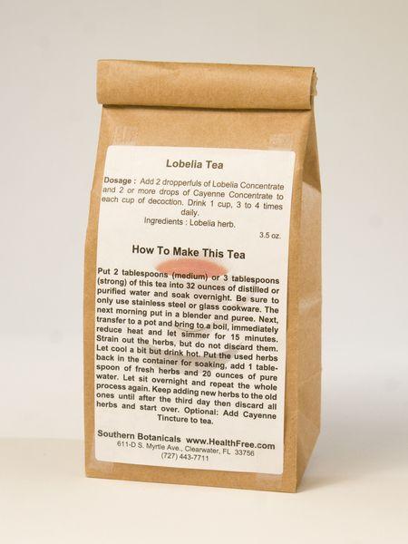 Lobelia Tea 35 Oz Dry Herb Teas For Health Kidney Cleanse