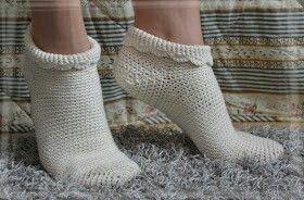 Virkattu virkkaus ohje sukat villasukat