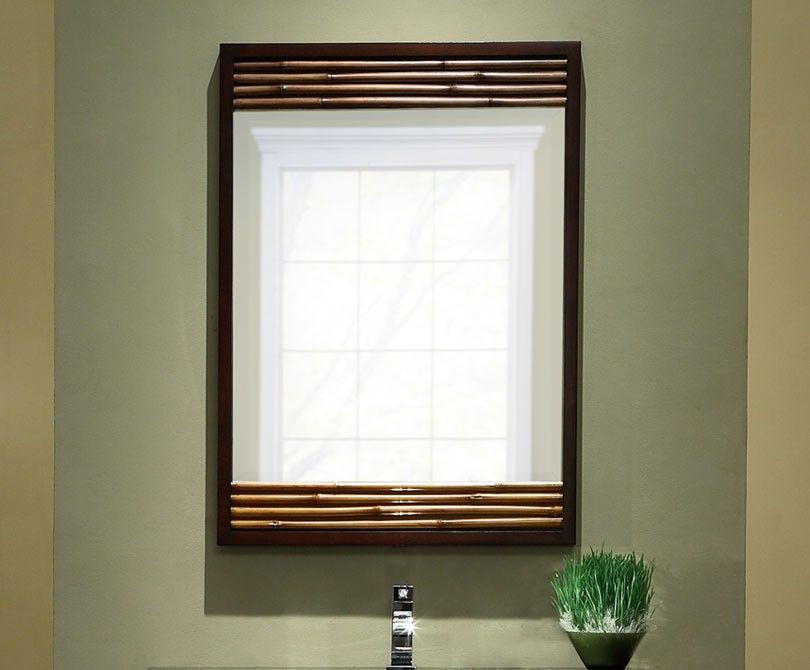 Xylem Bambu Bathroom Mirror
