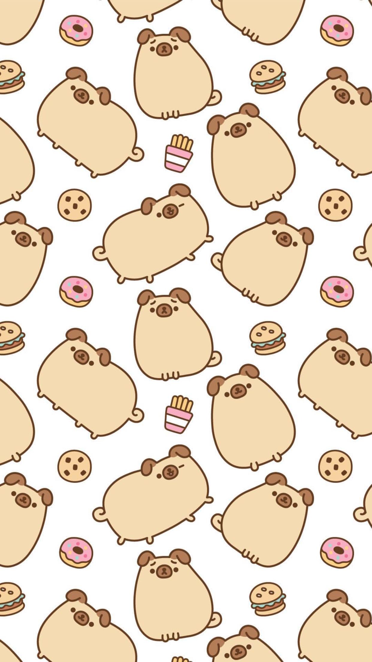 Pin By Emily Chan On Pusheen Cute Cartoon Wallpapers Dog Wallpaper Pusheen Cat